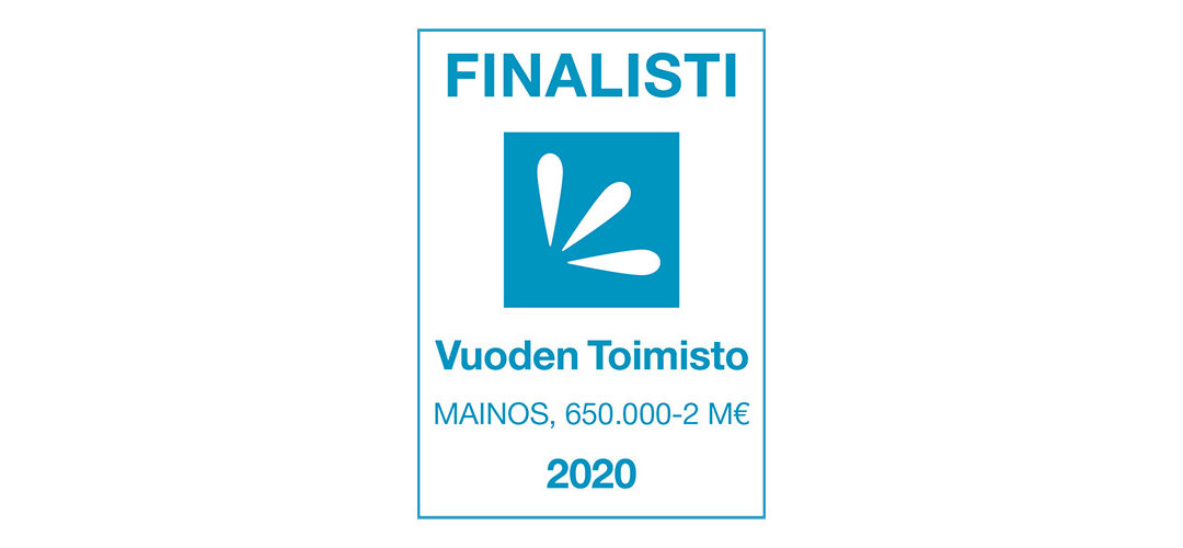 Marvelous Finland Vuoden Toimisto 2020 -finaaliin